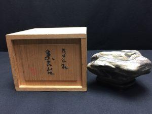 【水石・鑑賞石】虎石を買取致しました。