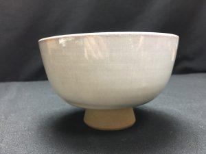【茶道具・茶碗】大塩昭山作 赤膚茶碗を買取致しました。