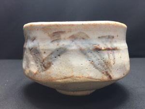 【茶道具・茶碗】 加藤景秋 志野茶碗を買取致しました。