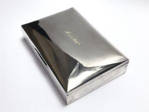 【金工品】SIVER925 アクセサリーボックスを買取致しました。