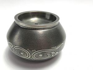 【茶道具・建水】間村自造 錫製建水を買取致します。
