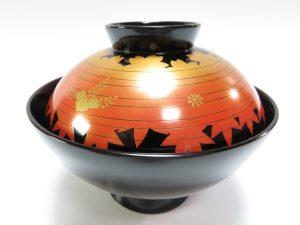 【骨董品 その他】輪島慶塚 京型春秋吸物椀を買取り致しました。