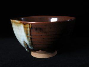 【茶道具・作家物】淡海膳所 陽炎園 膳所焼茶碗を買取致しました。