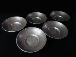 【錫製品】中村半兵衛 錫半本店 茶托を買取り致しました。