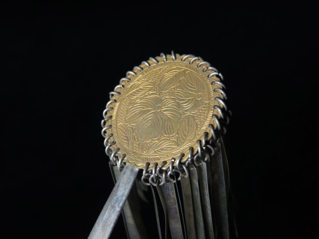 【簪・笄】 彫金細密細工の簪を買取り致しました。