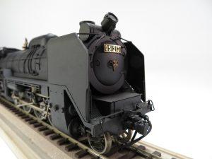 【玩具・鉄道模型】蒸気機関車模型 D51を買取致しました。