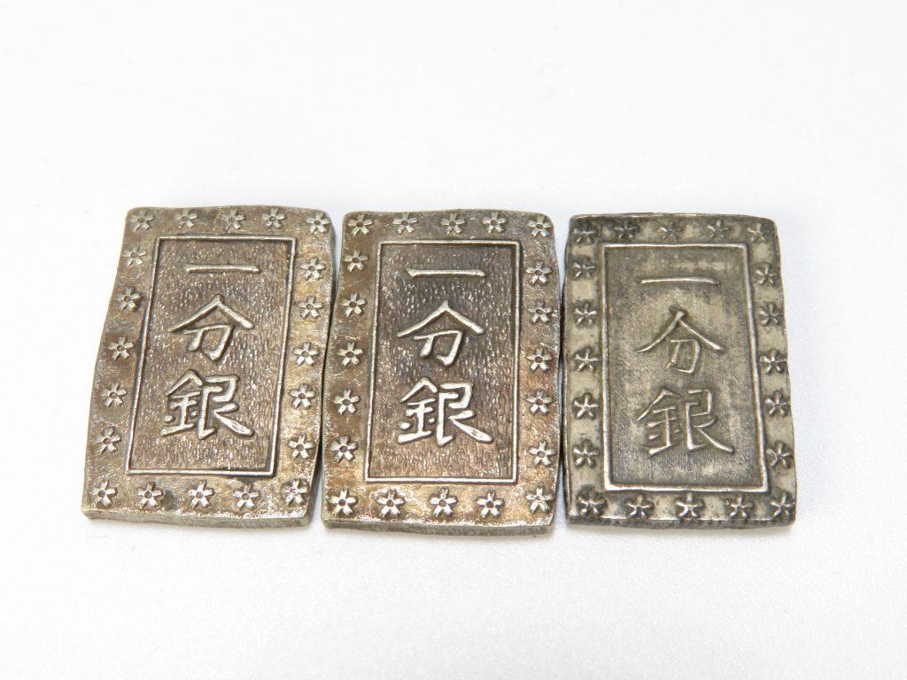 【定位貨幣】天保一分銀を買取致しました。
