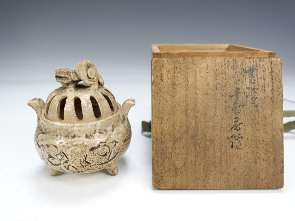 【茶道具 その他】真清水蔵六 「千鳥香炉」を買取り致しました。