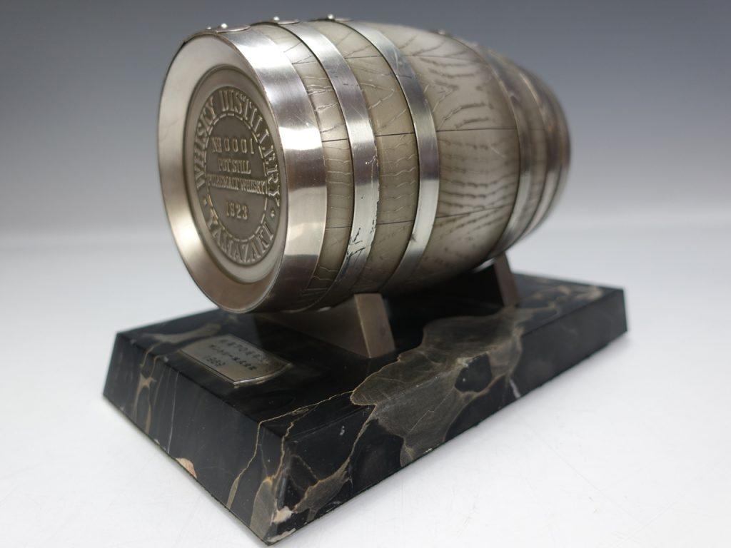 【銀製 置物】SILVER 『飾樽』尚工舎製 サントリー 創業70周年記念 1969を買取り致しました。