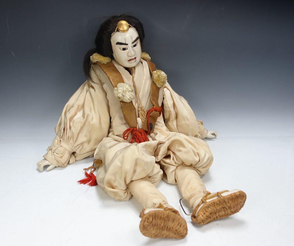 文楽人形 天狗久(山伏白装束)