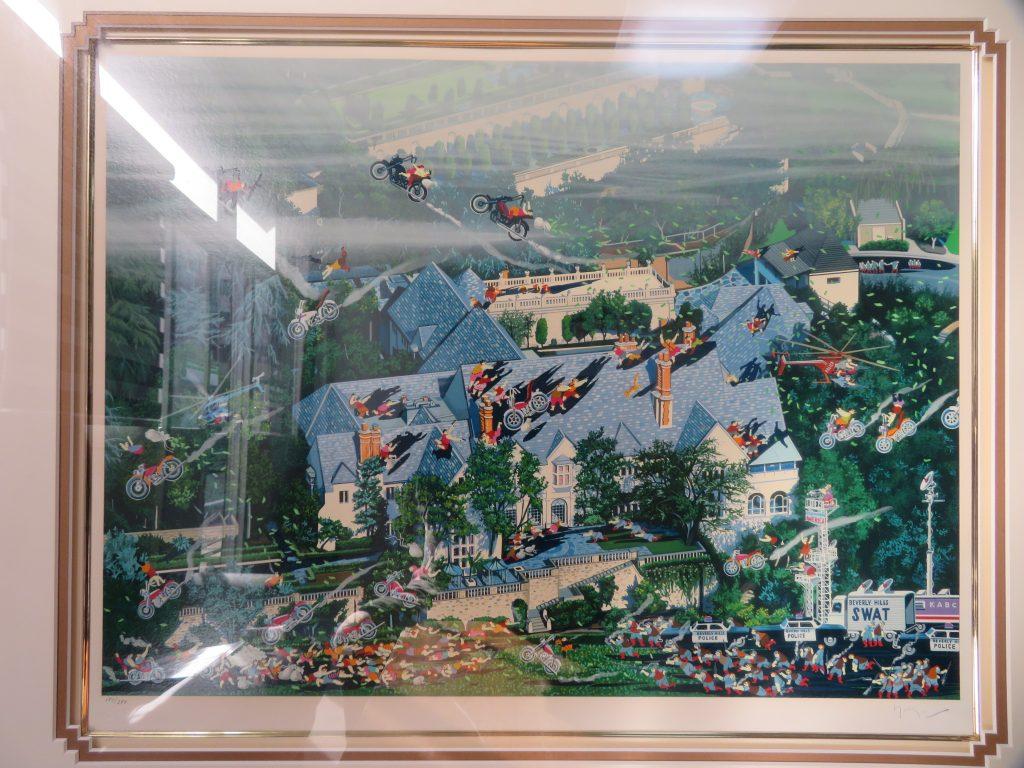 【版画 その他技法】ヒロ・ヤマガタ「ビバリーヒルズの大泥棒」を買取り致しました。