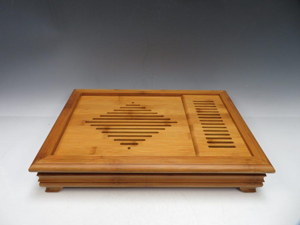 中国茶道具 竹茶盤