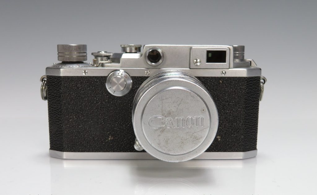 キャノン 「フィルムカメラ MODEL 11D LENS 50mm」