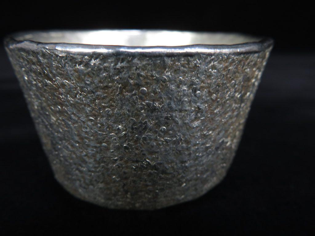 【錫製品】鶴岡鉦次郎 『錫ぐい呑み』を買取り致しました。