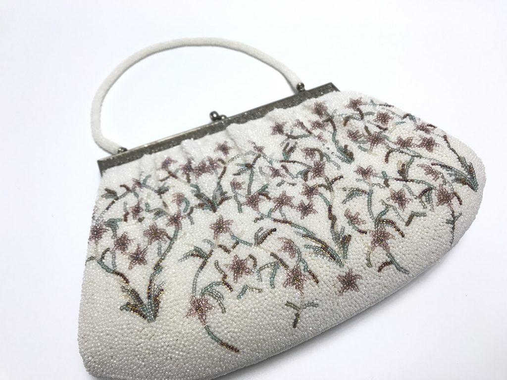 【和装小物】ビーズカバン 「婦人用手提げ鞄」を買取り致しました。