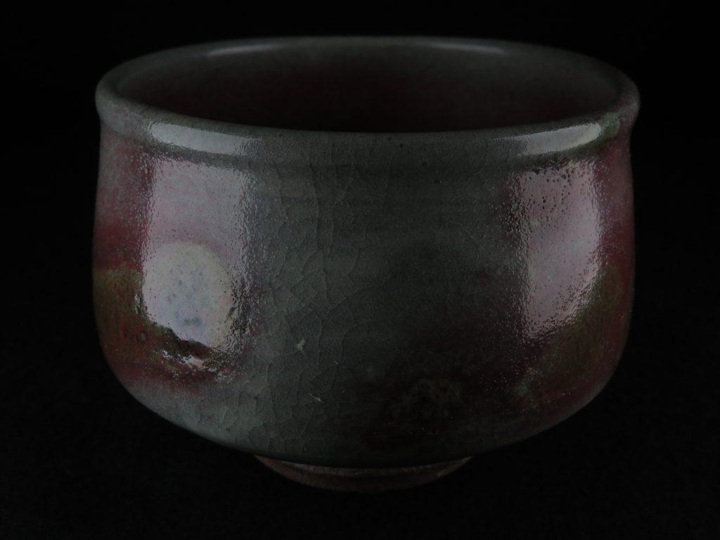 【茶碗】中村文昌 「銅釉彩茶碗」を買取り致しました。