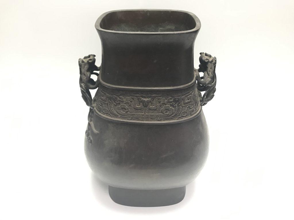 【中国銅器】大明宣徳年製  獣耳宣徳銅器を買取り致しました。