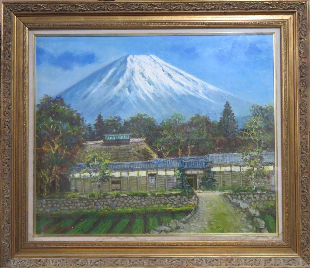 【油彩画(日本)】小倉啓三郎 富士を買取り致しました。
