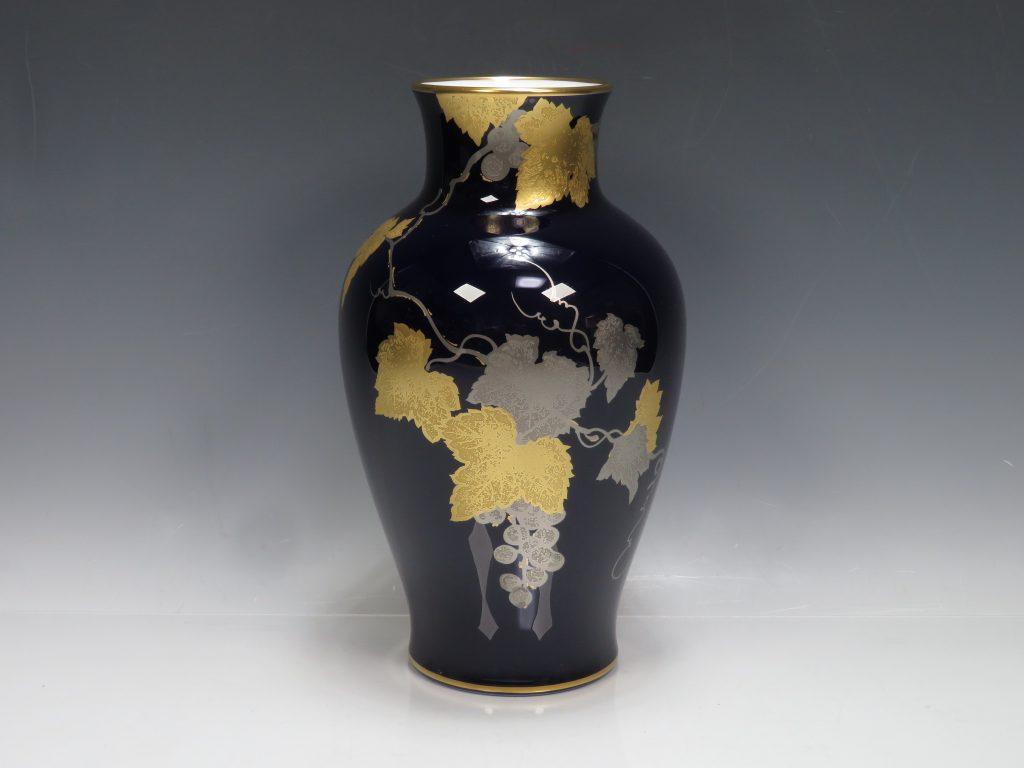 大倉陶園 花瓶