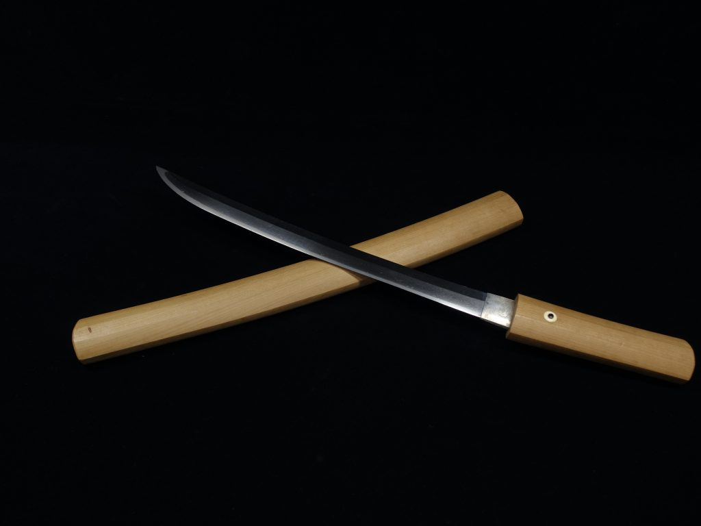 【刀剣】無銘「白鞘短刀」を買取り致しました。