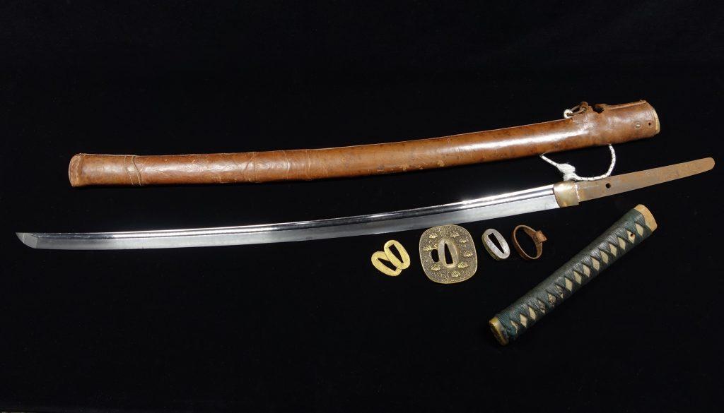 【刀剣】早川無進作「九五式軍刀」を買取り致しました。