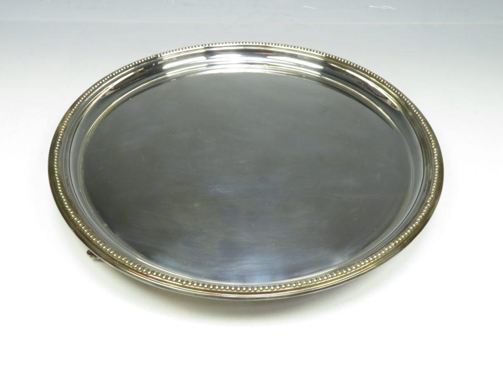 【金工品・銀製】イギリス製 ホールマーク入 シルバープレートを買取致しました。