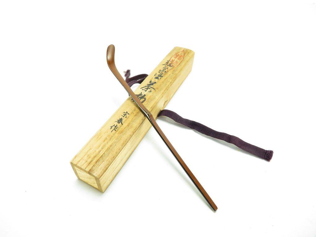 【茶道具・茶杓】久世宗春 「輪島塗蒔絵茶杓」を買取致しました。