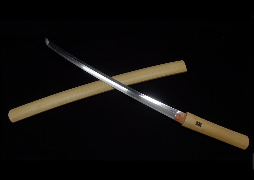 【刀剣】金房兵衛尉政貞「白鞘脇差」を買取り致しました。