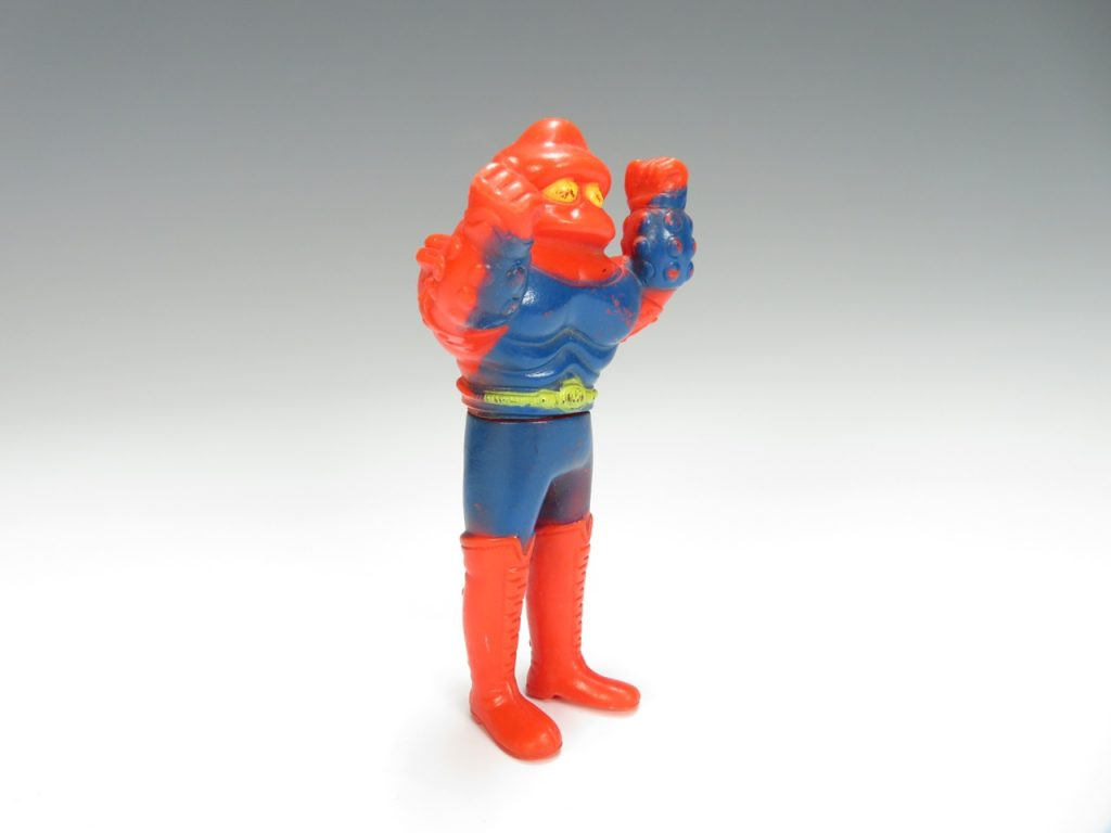 【昭和レトロ・ソフビ】 ソフビ人形 アクマイザー ガブラを買取致しました。