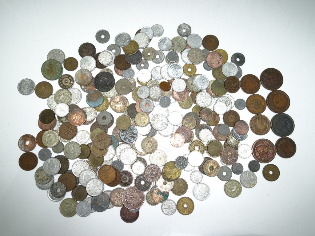 【古銭・その他】 日本硬貨 昭和・明治・大正などを買取致しました。