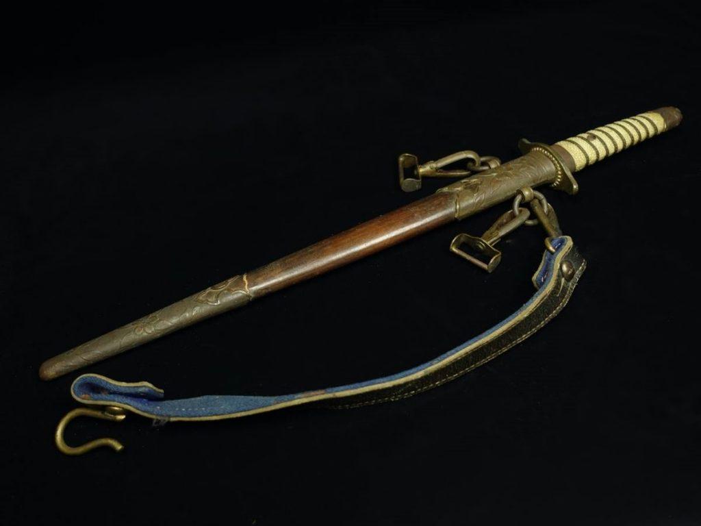【刀剣・刀装具その他】海軍士官 短剣を買取り致しました。