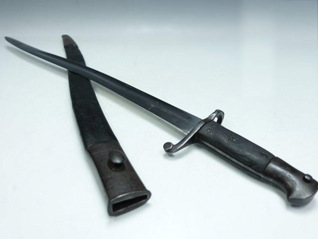 【刀剣・刀装具その他】ヤタガン式銃剣を買取り致しました。