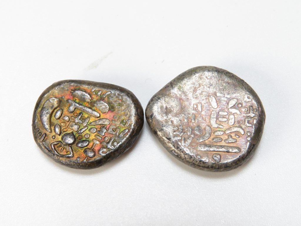 【古銭・切手 その他】  豆板銀 を買取り致しました。