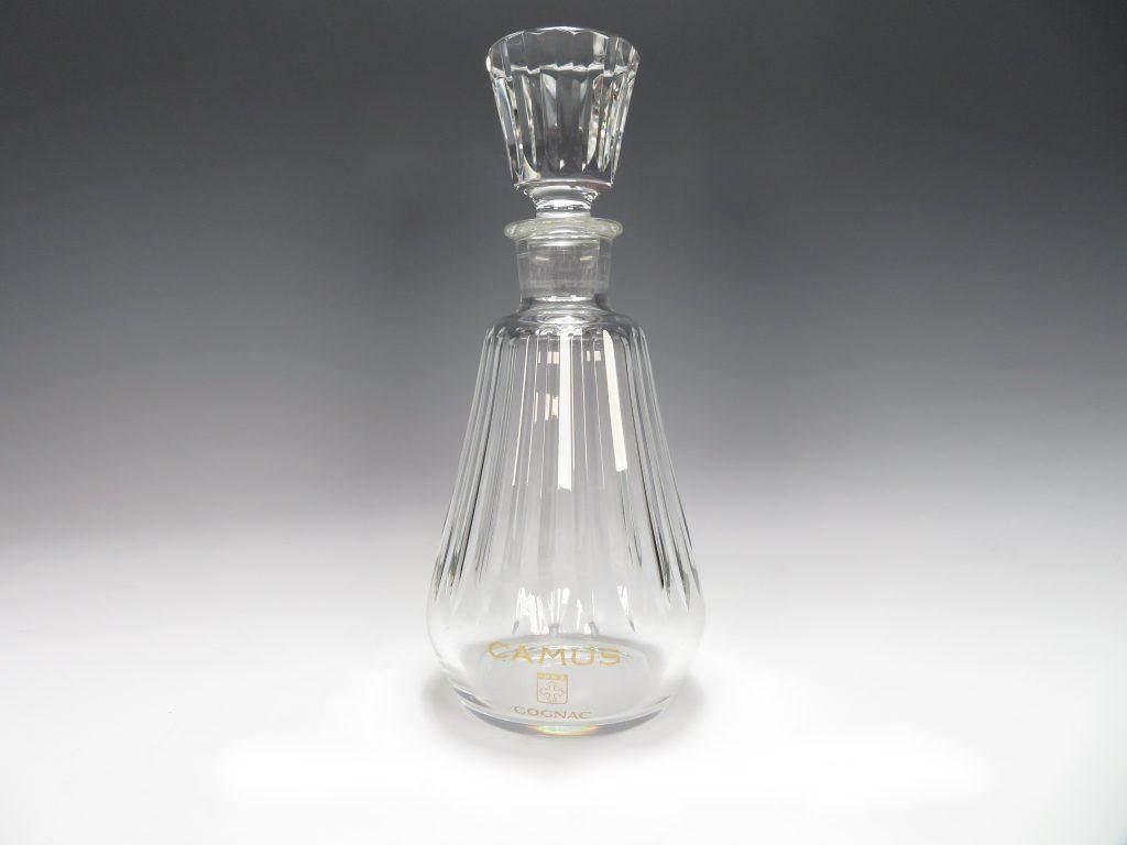 【骨董品・硝子】CAMUS カミュ 「バカラ」 空ボトルを買取致しました。