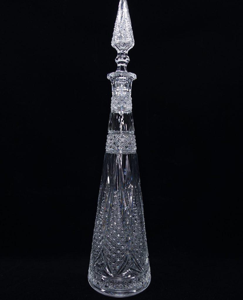 【骨董品・硝子】Baccarat (バカラ)デカンタボトルを買取致しました。