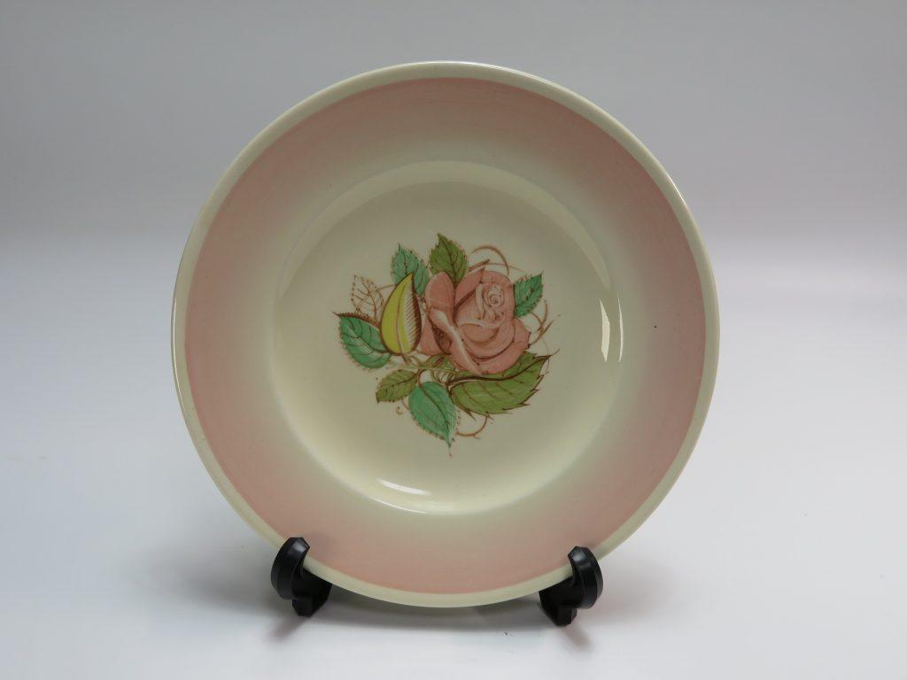 【西洋美術・その他】スージー・クーパー「パトリシアローズ・プレートピンク」を買取致しました。