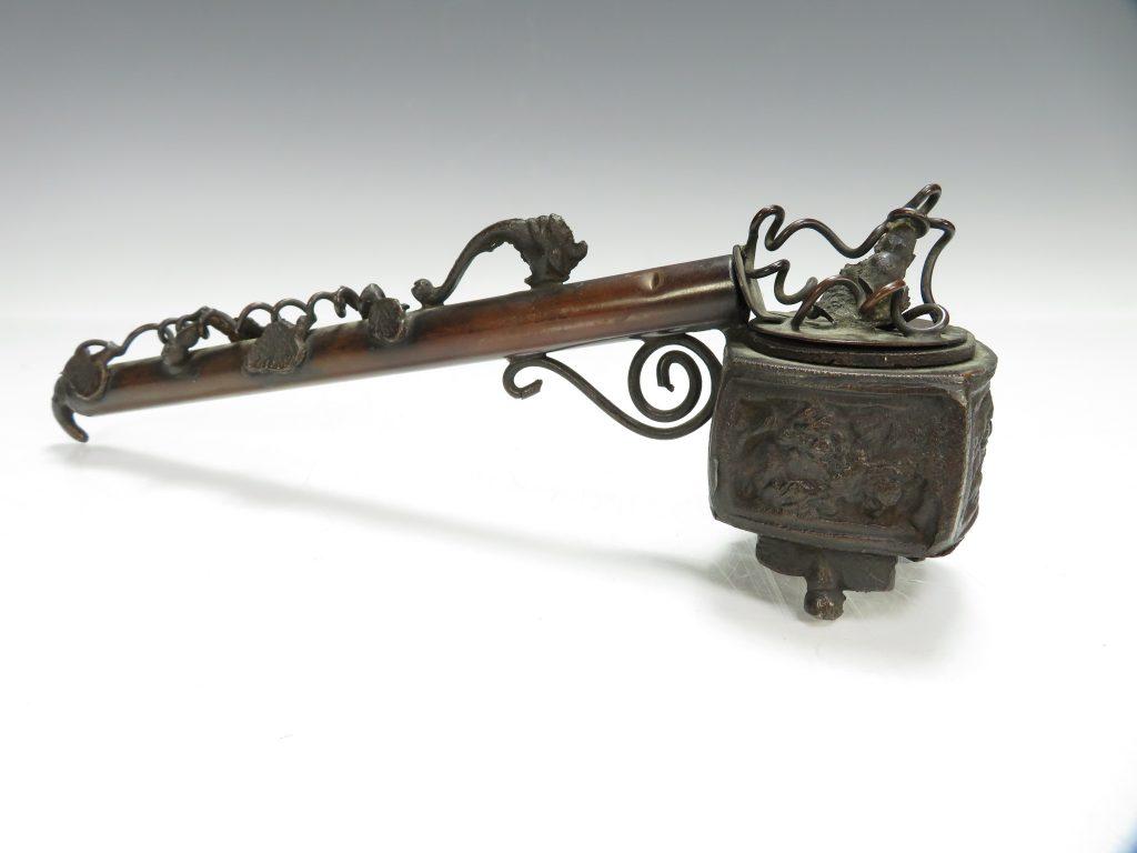 【硯・書道具】「蔦文香炉型矢立」を買取り致しました。