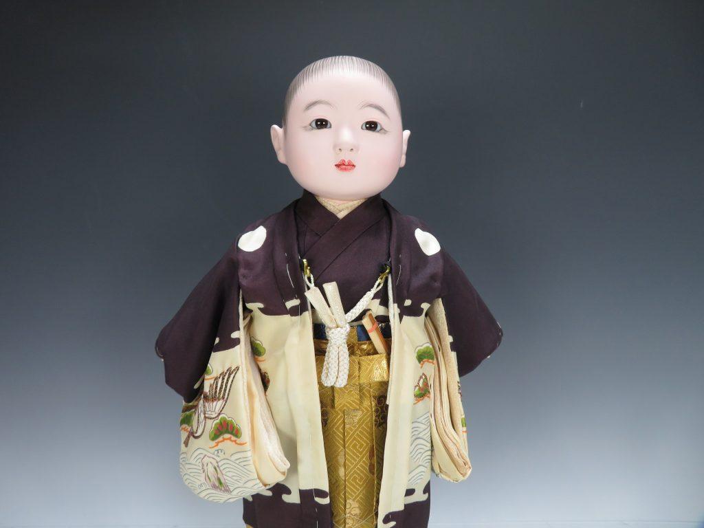 【節句物】秀月 「市松人形」を買取り致しました。
