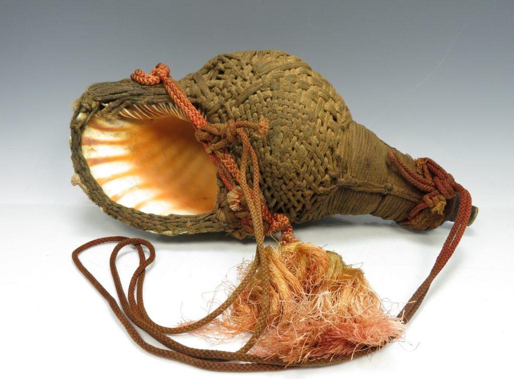 【骨董品】山伏法螺貝を買取り致しました。