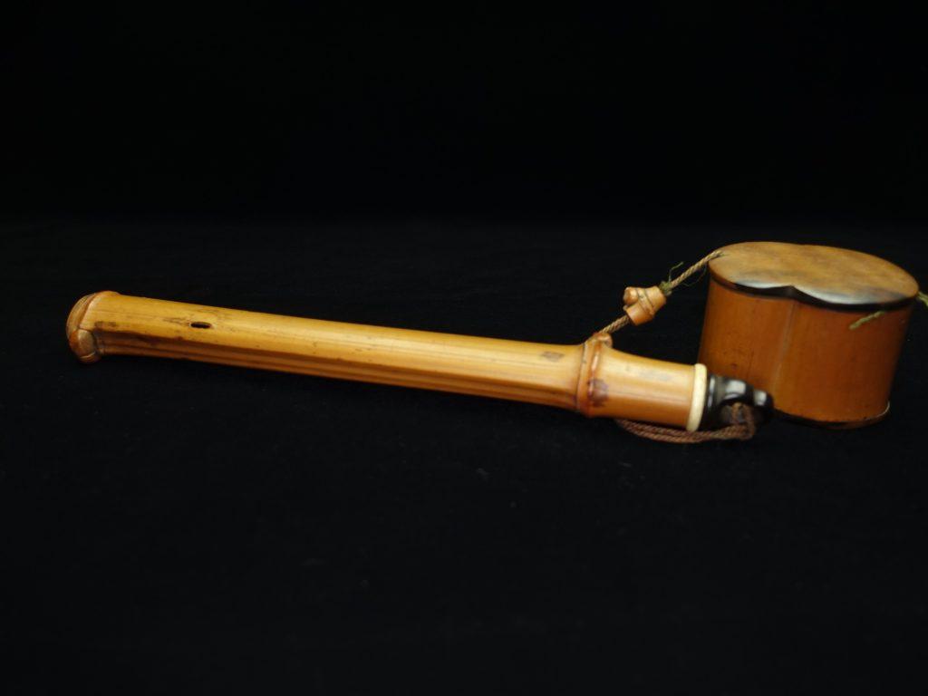 【硯・書道具】「煤竹矢立」を買取り致しました。