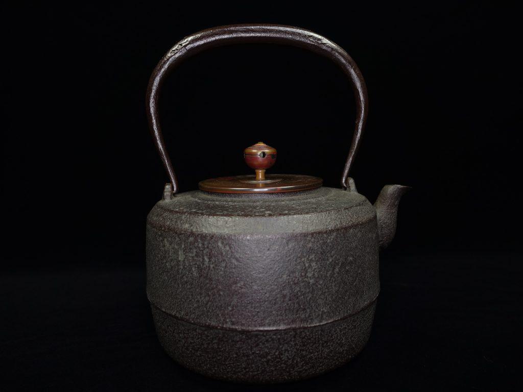【鉄瓶、作家物】菊地政光「真形鉄瓶」を買取り致しました。
