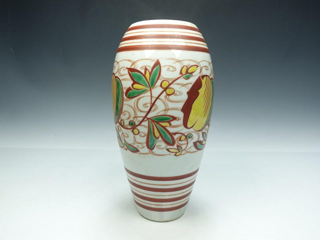 【作家物 磁器】三浦竹泉 「九谷焼花瓶」を買取り致しました。