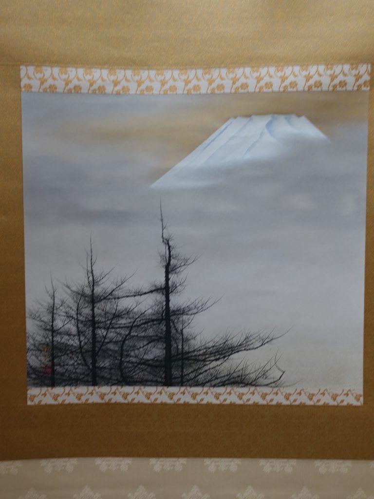 【掛軸】東韶光「富士の図」を買取り致しました。