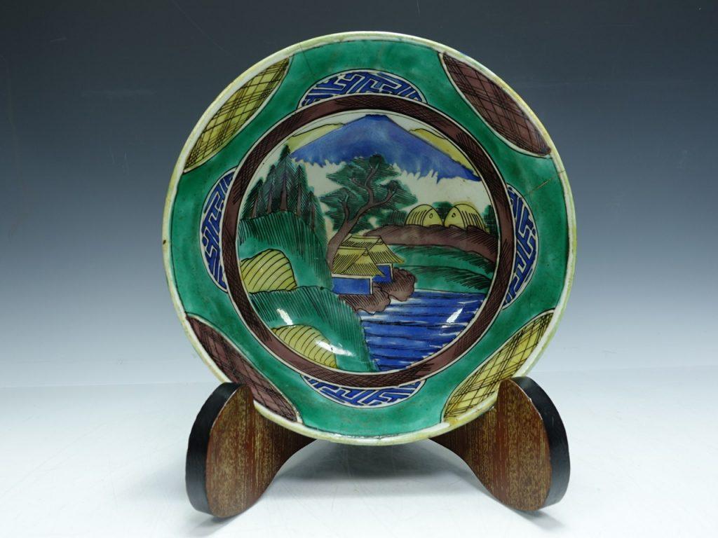 【古陶磁器】無銘「古九谷 鉢」を買取致しました。