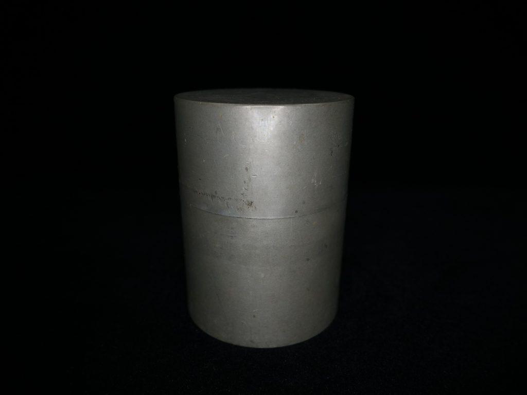 【錫製品】間村自造「錫製茶筒」を買取致しました。