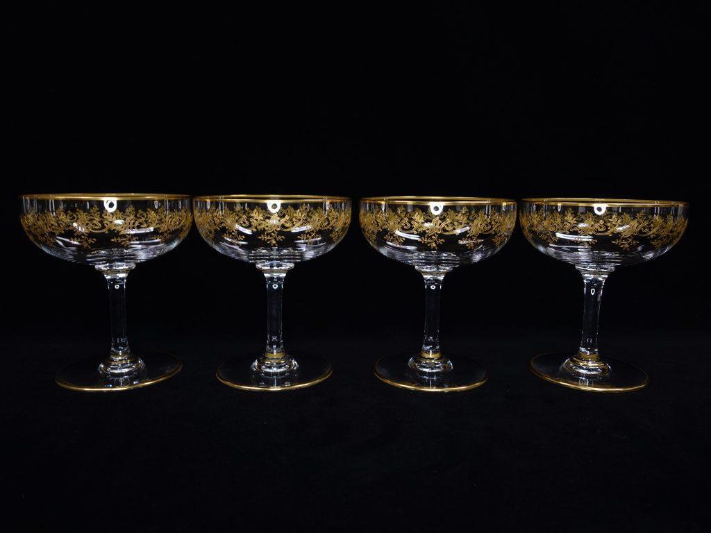 【バカラ】Baccarat 「セビーヌ金彩グラス」を買取り致しました。