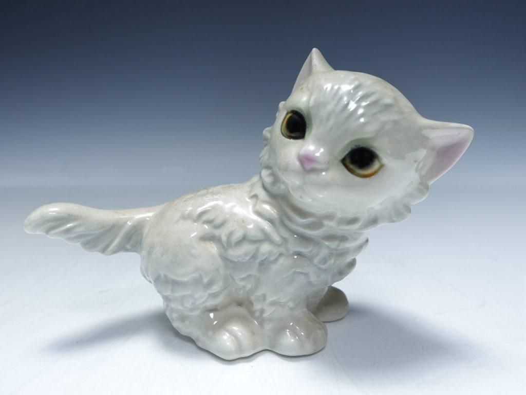 【西洋美術】Goebel(ゲーベル)「子猫」を買取致しました。