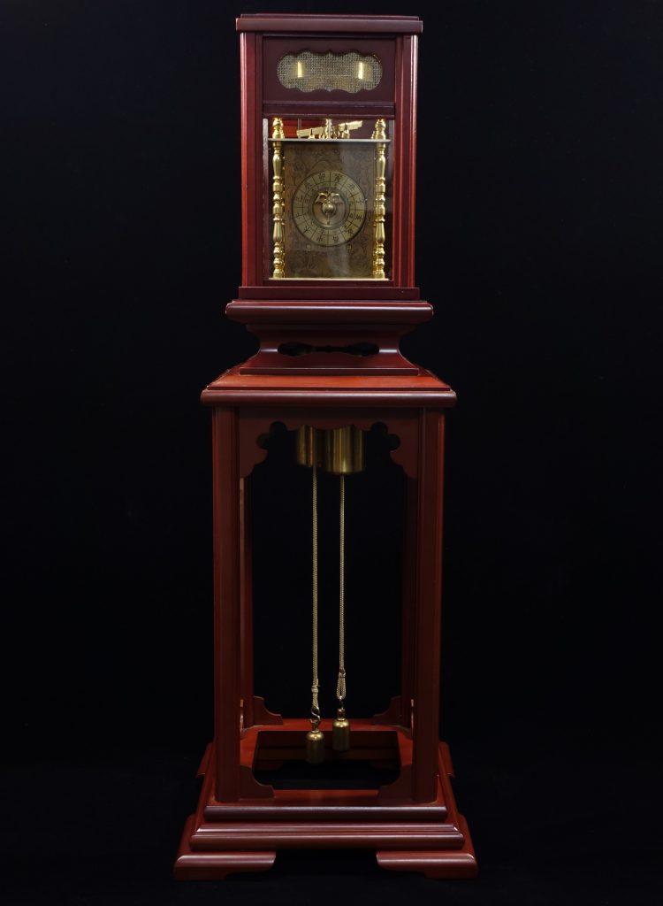 【骨董品・その他】和時計「干支文字盤 二挺天符」 を買取り致しました。