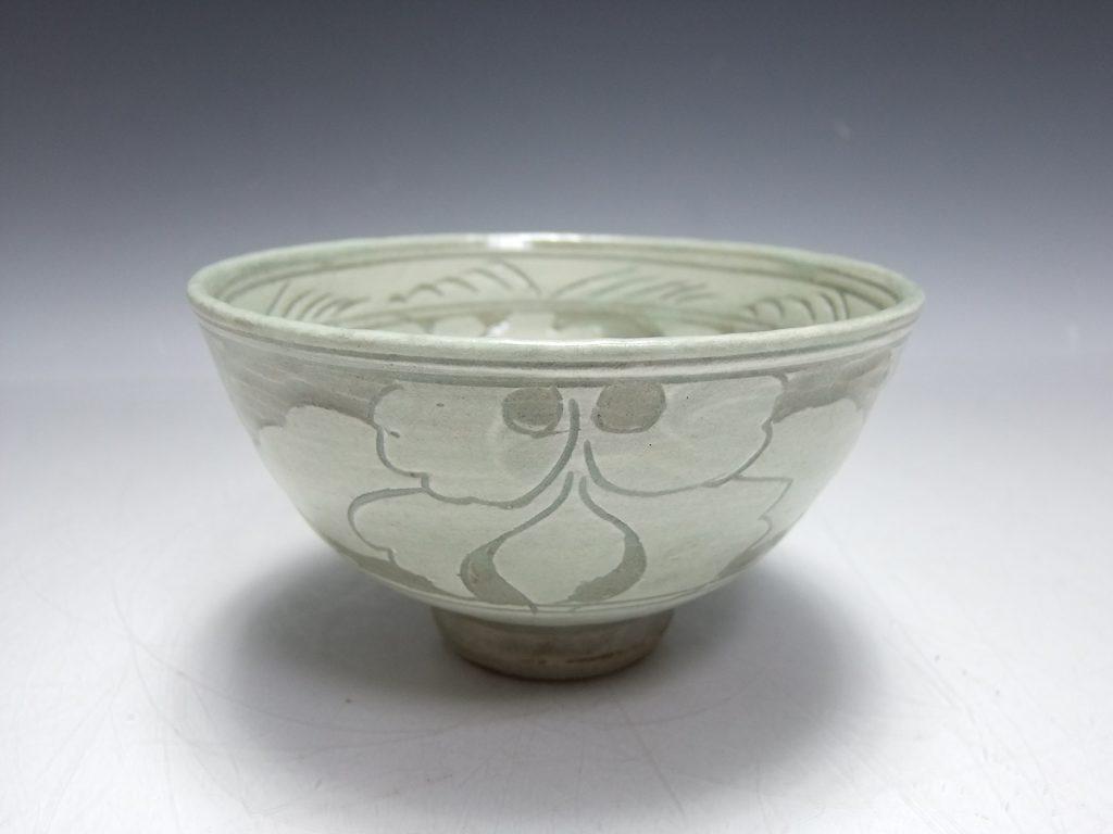 【茶道具】安東五「三島彫茶碗」を買取致しました。