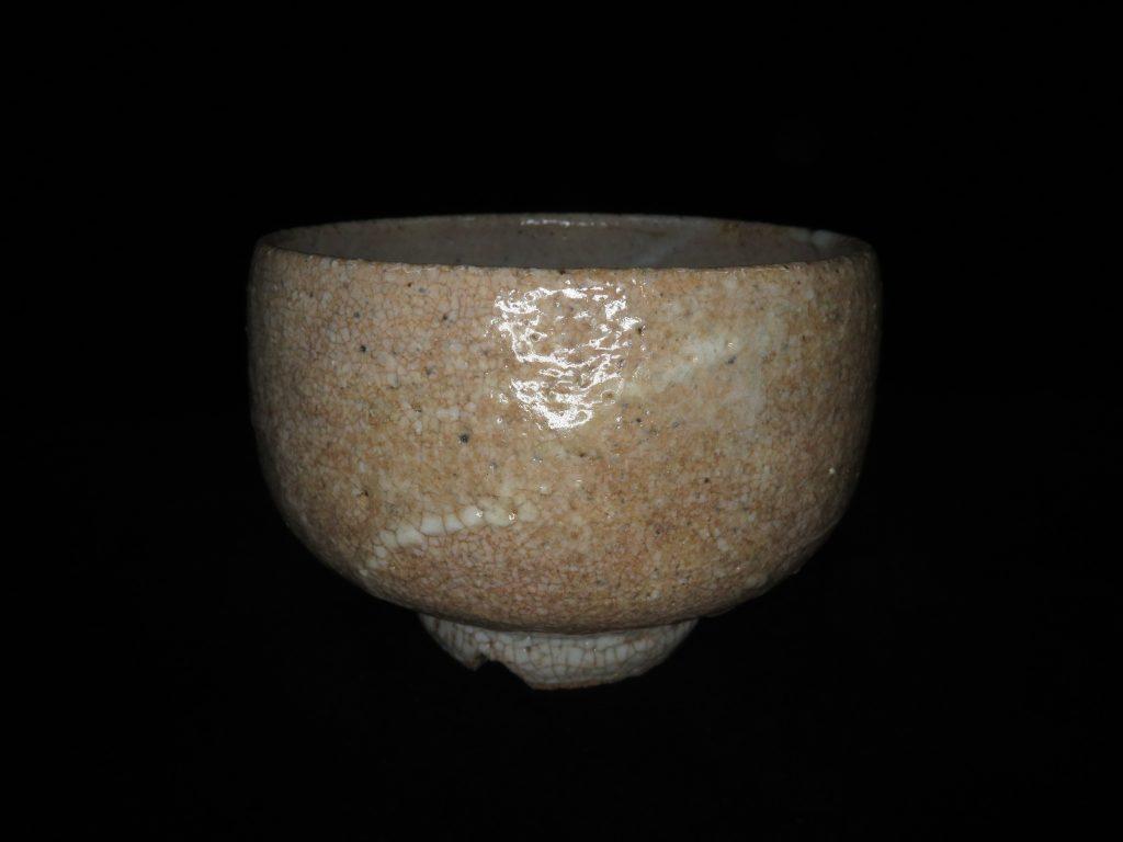 【茶碗】安東五「井戸割高台茶碗」を買取り致しました。